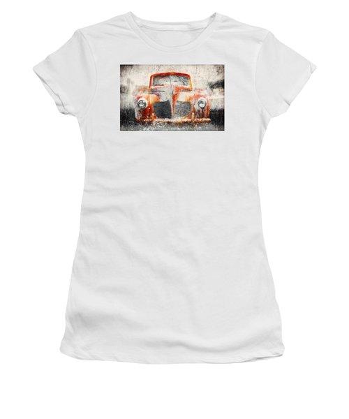 Painted 1940 Desoto Deluxe Women's T-Shirt