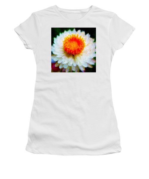 Paper Daisy Women's T-Shirt (Athletic Fit)