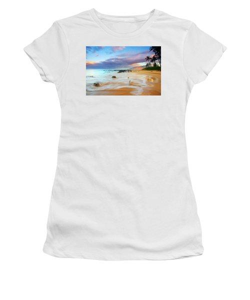Paradise Dawn Women's T-Shirt (Athletic Fit)