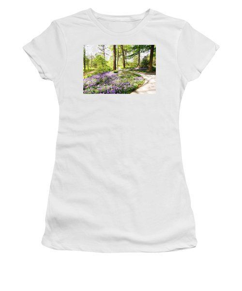 Path Of Serenity Women's T-Shirt (Athletic Fit)