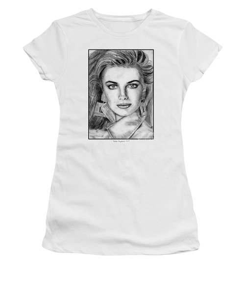 Paulina Porizkova In 1987 Women's T-Shirt (Athletic Fit)