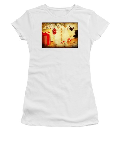 Peace And Joy To All Women's T-Shirt