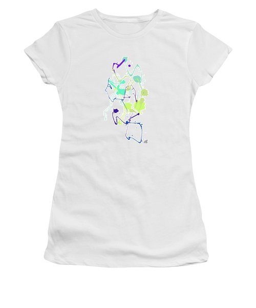 Peace In The Garden Women's T-Shirt (Athletic Fit)