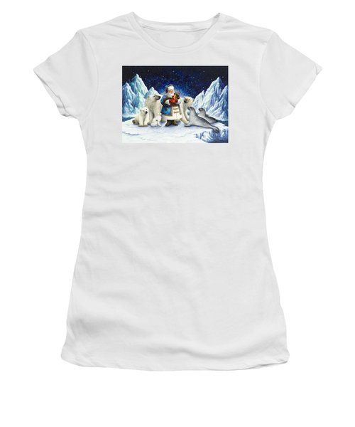 Peace On Earth  Women's T-Shirt (Athletic Fit)
