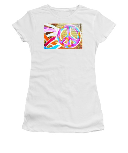 Peace Out Women's T-Shirt