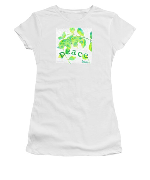 Peace Women's T-Shirt (Junior Cut)