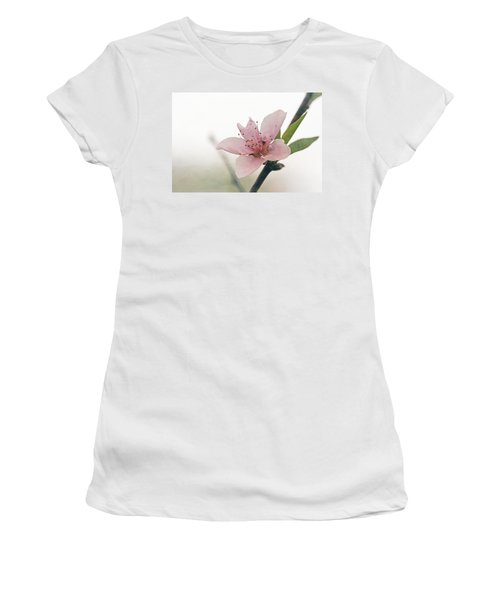 Peach Blossom Women's T-Shirt (Athletic Fit)