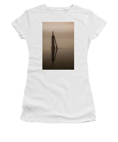 Pelican On A Stick Women's T-Shirt (Athletic Fit)