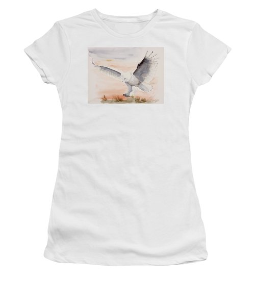 Perfect Landing Women's T-Shirt (Athletic Fit)
