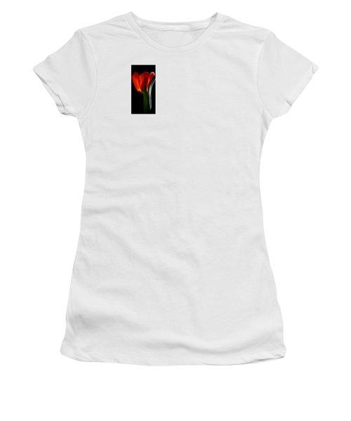 Women's T-Shirt (Junior Cut) featuring the photograph Perfect Love by Julie Palencia