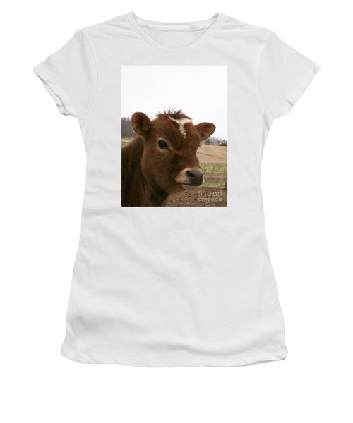Perfect Stance Women's T-Shirt (Junior Cut) by Sara  Raber
