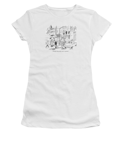 Perhaps That Peculiar Odor Is Autumn Women's T-Shirt