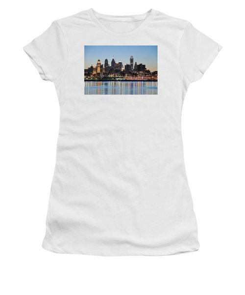 Philly Sunset Women's T-Shirt (Athletic Fit)