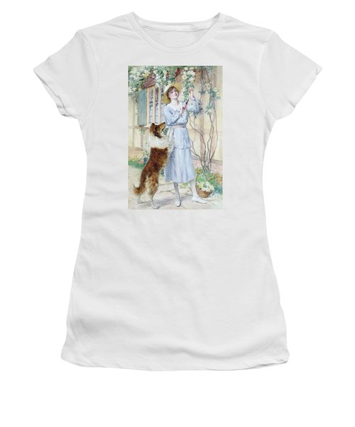 Picking Roses Women's T-Shirt