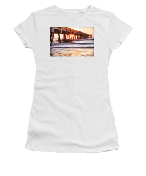 Pier Sunrise Too Women's T-Shirt (Athletic Fit)