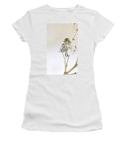 Pine Siskin Women's T-Shirt