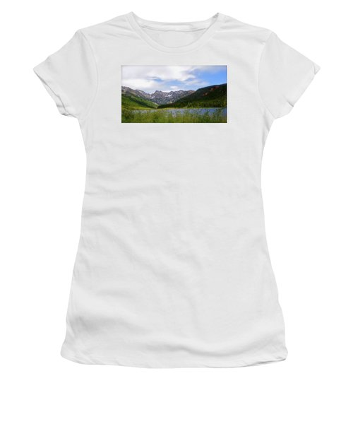 Piney Lake In Upper Vail Women's T-Shirt (Athletic Fit)