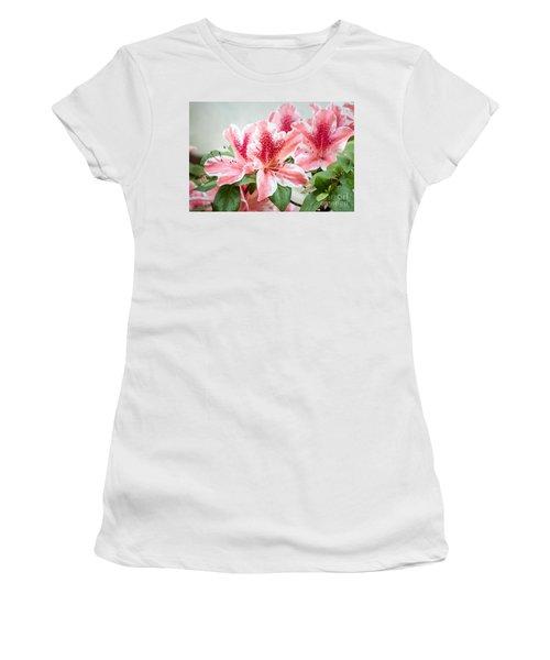 Pink Azaleas Women's T-Shirt