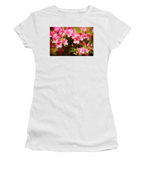 Pink Azealas Women's T-Shirt