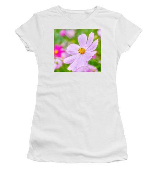 Pink Flower  Women's T-Shirt