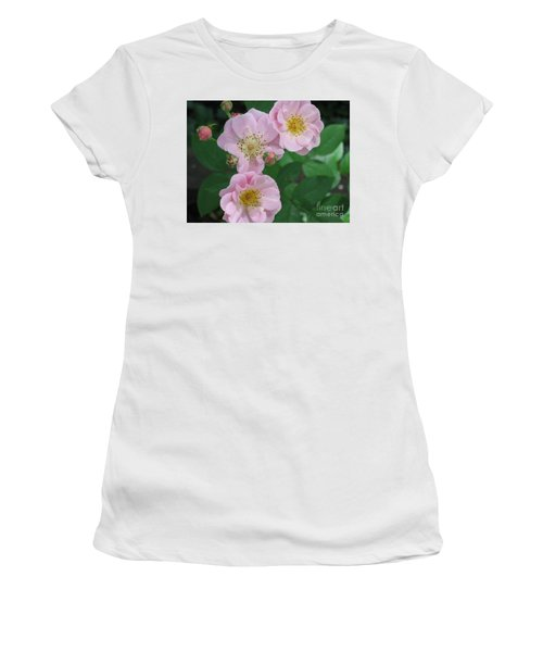 Pink Roses Women's T-Shirt