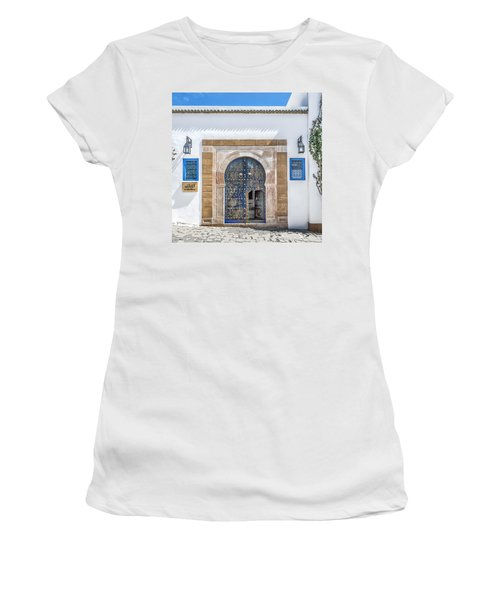 Please Come In Women's T-Shirt (Athletic Fit)