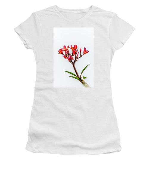Plumeria Women's T-Shirt (Athletic Fit)