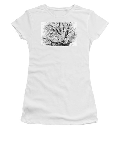 Women's T-Shirt (Junior Cut) featuring the photograph Poetry Tree by Roselynne Broussard