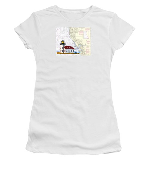Point Cabrillo Light Station Women's T-Shirt (Athletic Fit)
