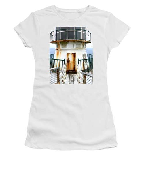 Point Reyes Historic Lighthouse Women's T-Shirt (Athletic Fit)