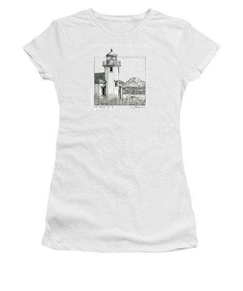 Point Robinson Light Women's T-Shirt (Junior Cut) by Ira Shander