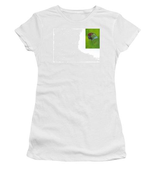 Polly Women's T-Shirt (Junior Cut) by Catherine Swerediuk