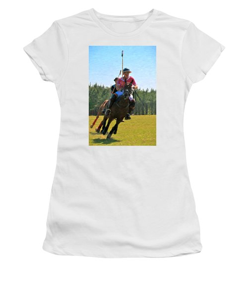 Polo Women's T-Shirt (Athletic Fit)