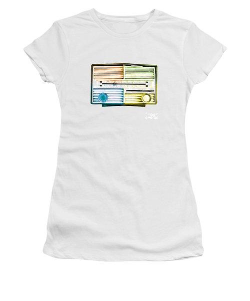 Pop Art Vintage Radio Women's T-Shirt