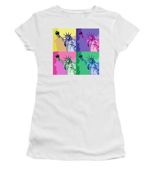 Pop Liberty Women's T-Shirt