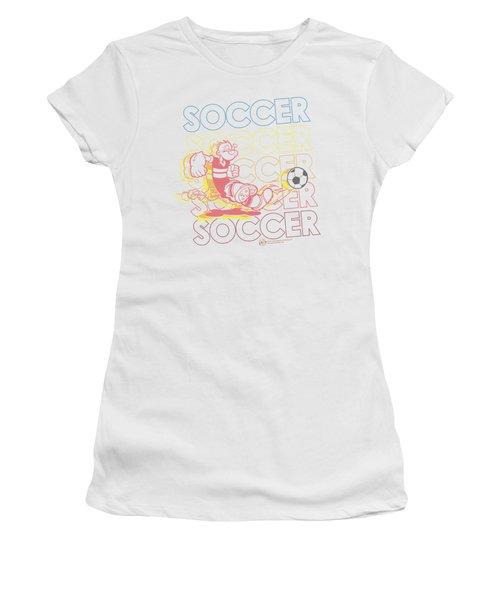 Popeye - Soccer Women's T-Shirt (Athletic Fit)