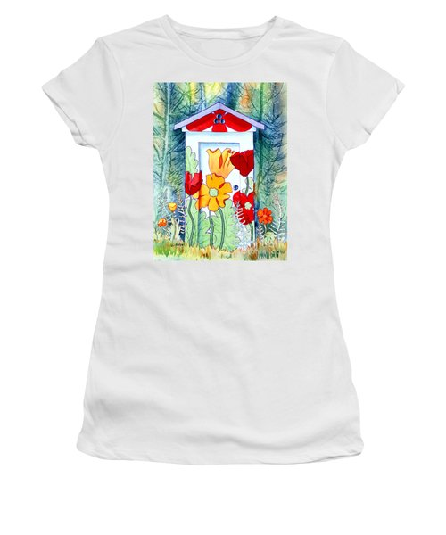 Poppy Potty Women's T-Shirt (Athletic Fit)