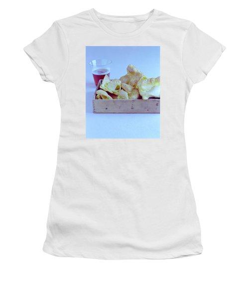 Pork Rinds With A Pint Women's T-Shirt