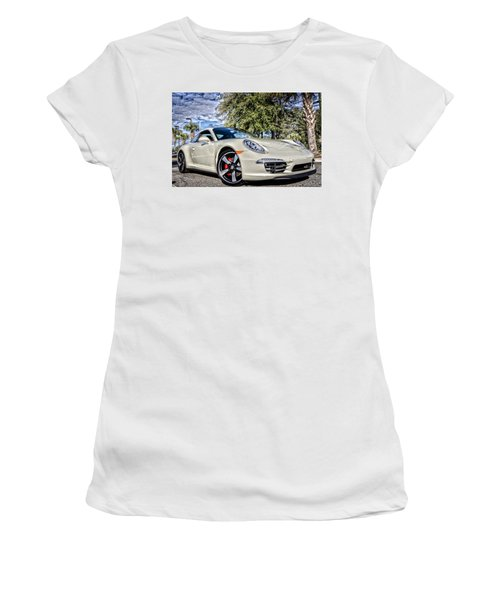 Porsche 50th Anniversary Limited Edition Women's T-Shirt (Athletic Fit)