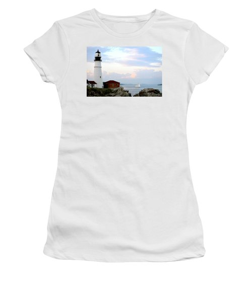 Portland Head Light Women's T-Shirt