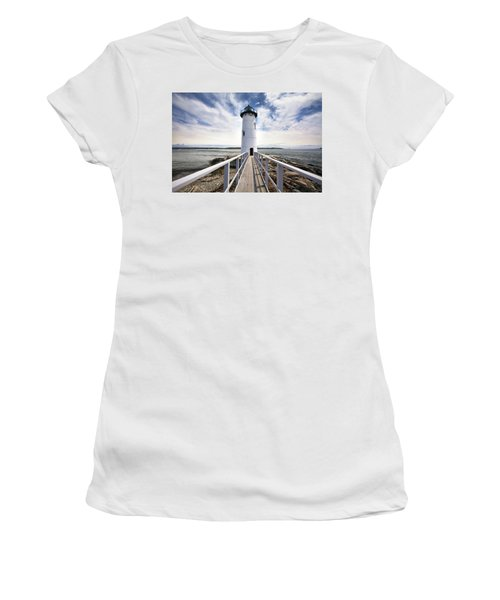 Portsmouth Harbor Lighthouse Women's T-Shirt (Athletic Fit)