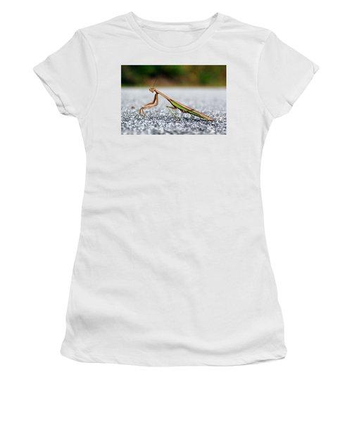 Posing For The Camera Women's T-Shirt