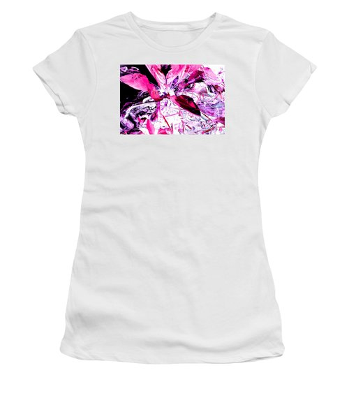 Pretty Pink Weeds 5 Women's T-Shirt (Athletic Fit)