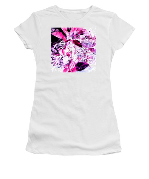 Pretty Pink Weeds 6 Women's T-Shirt (Athletic Fit)