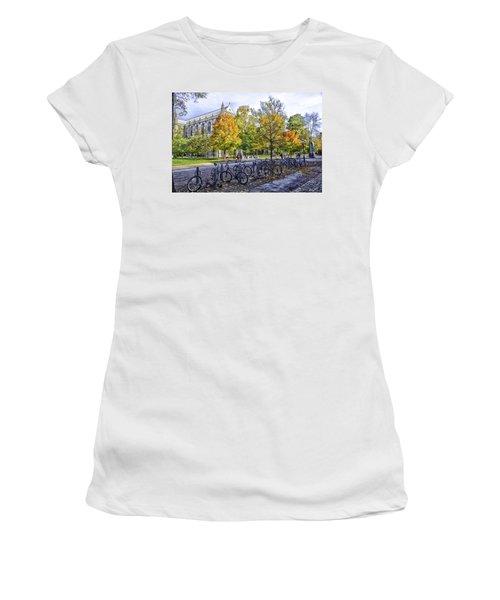 Princeton University Campus Women's T-Shirt (Athletic Fit)