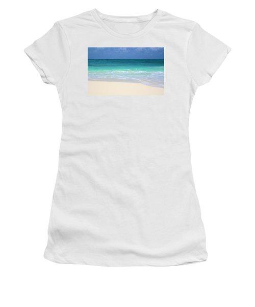 Pristine Beach Cancun Women's T-Shirt