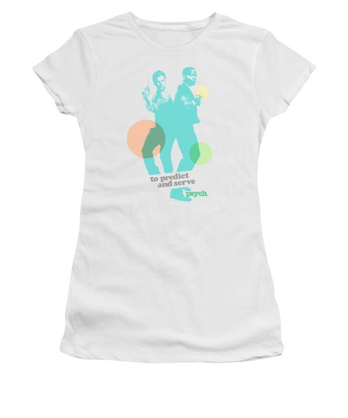 Psych - Predict And Serve Women's T-Shirt