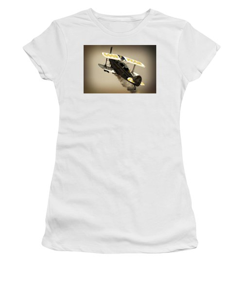 Pulling Up Women's T-Shirt (Athletic Fit)