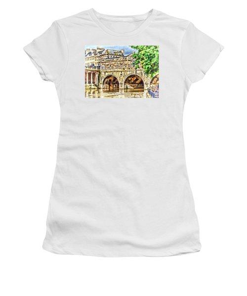 Pulteney Bridge Bath Women's T-Shirt