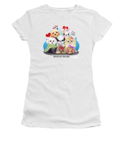 Puppies Manifesto Women's T-Shirt